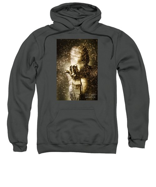Curse Of The Mummy Sweatshirt by Jorgo Photography - Wall Art Gallery