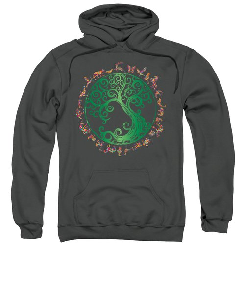 Cycle Of Life Sweatshirt by Martinus Sumbaji