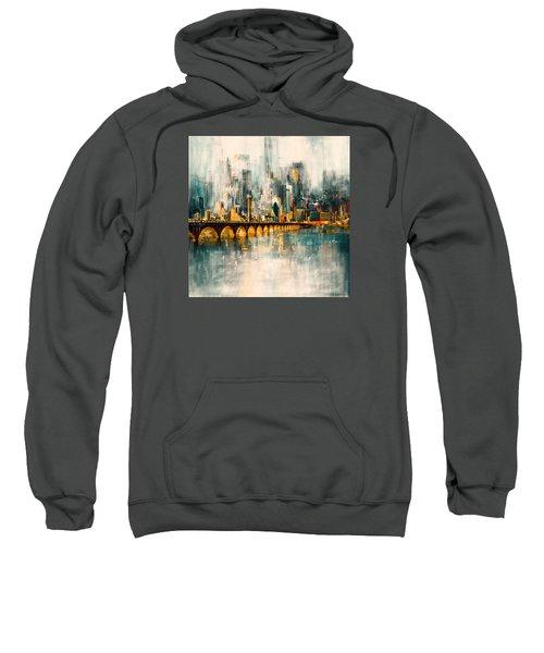 Dallas Skyline 217 3 Sweatshirt by Mawra Tahreem