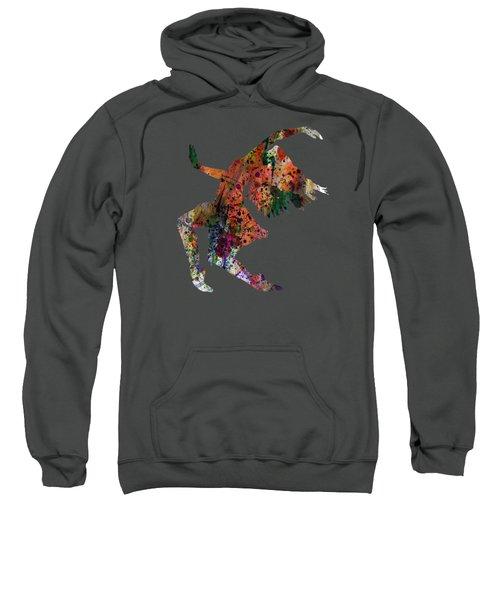Dancing To The Night  Sweatshirt by Mark Ashkenazi