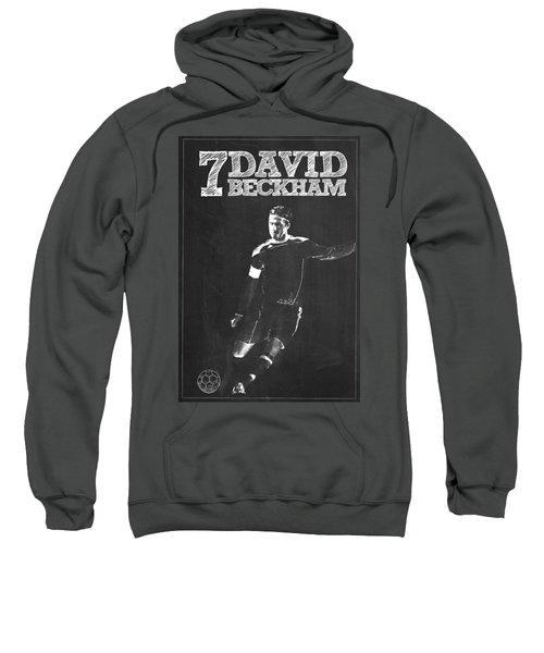 David Beckham Sweatshirt by Semih Yurdabak