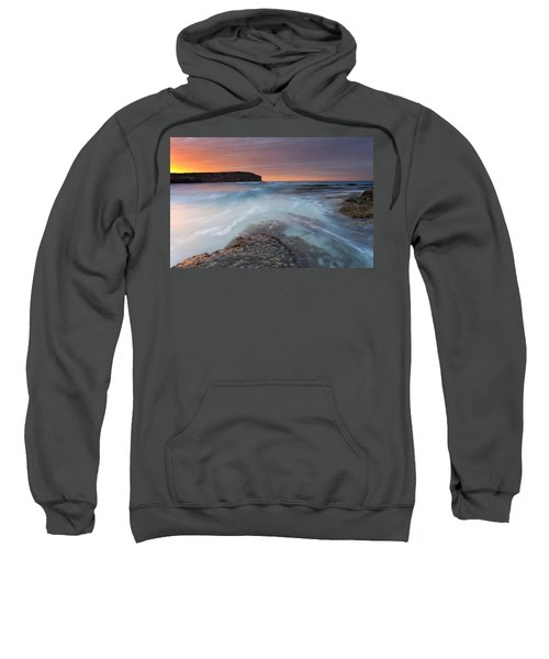 Divided Tides Sweatshirt by Mike  Dawson