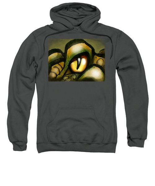 Dragon Eye Sweatshirt by Kevin Middleton