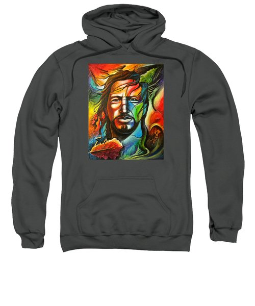 Eddie Vedder Sweatshirt by Robert Stokley