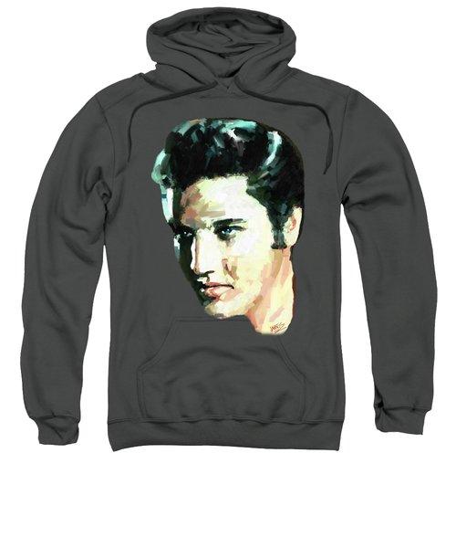 Elvis Sweatshirt by James Shepherd