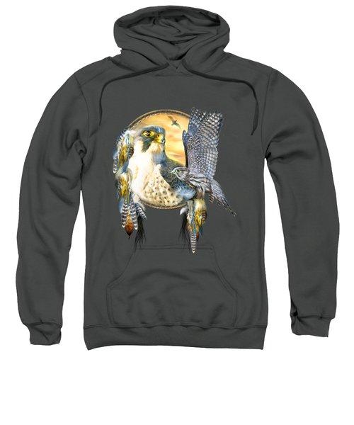 Falcon Dreams Sweatshirt by Carol Cavalaris