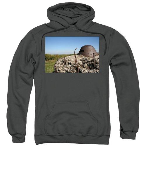 Sweatshirt featuring the photograph Fort De Douaumont - Verdun by Travel Pics