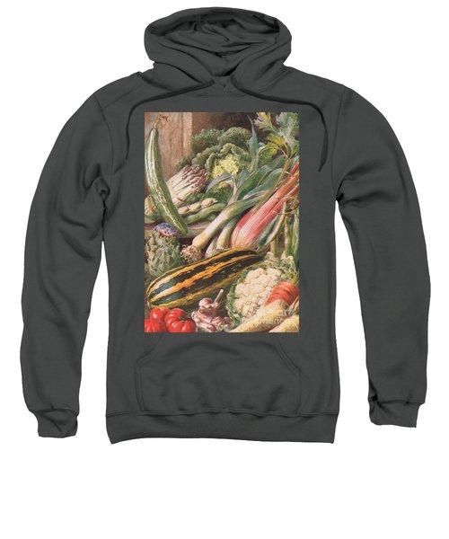 Garden Vegetables Sweatshirt by Louis Fairfax Muckley