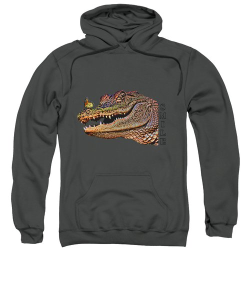 Gator Smile Sweatshirt by Mitch Spence