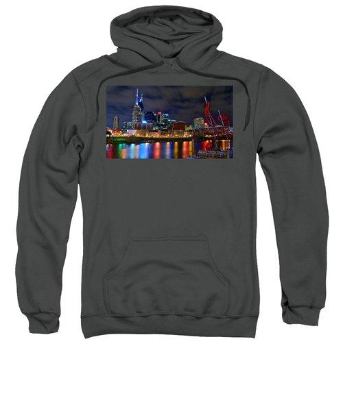 Ghost Ballet In Nashville Sweatshirt by Frozen in Time Fine Art Photography