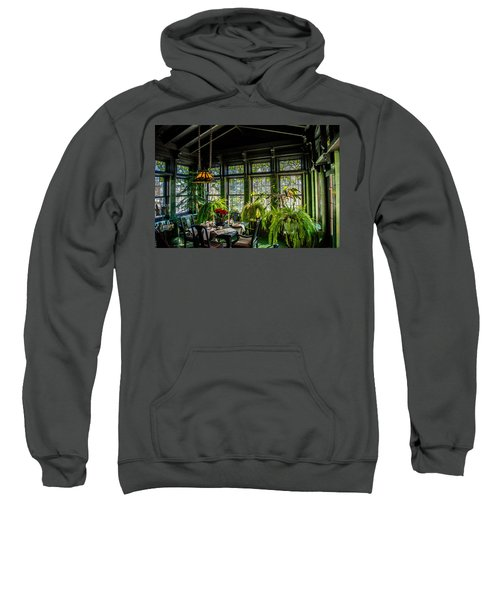 Glensheen Mansion Breakfast Room Sweatshirt by Paul Freidlund