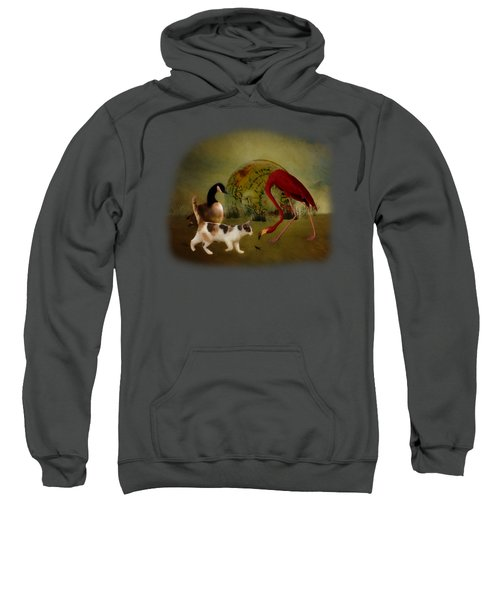 Global Initiative Sweatshirt by Terry Fleckney