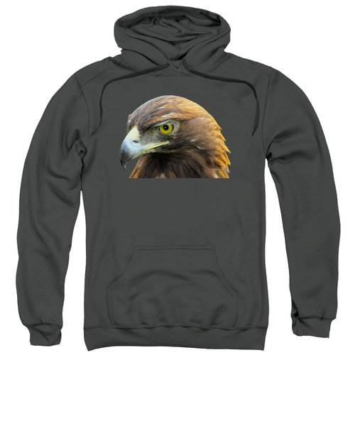 Golden Eagle Sweatshirt by Shane Bechler
