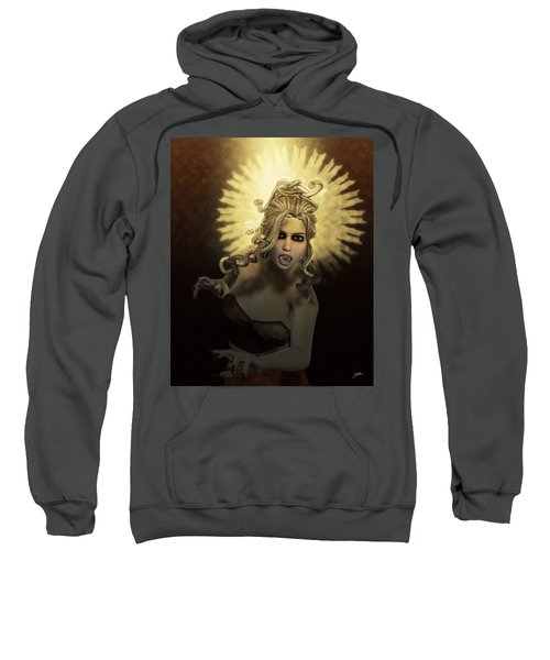 Gorgon Medusa Sweatshirt by Joaquin Abella
