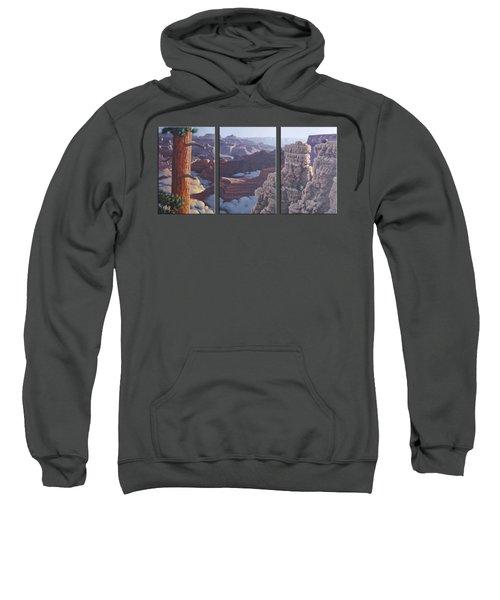 Grand Canyon Dawn Sweatshirt by Jim Thomas