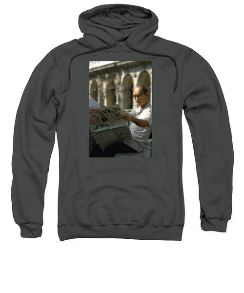 Sweatshirt featuring the photograph Havana by Travel Pics