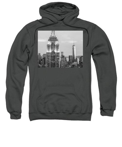 Iconic Skyscrapers Sweatshirt by Az Jackson