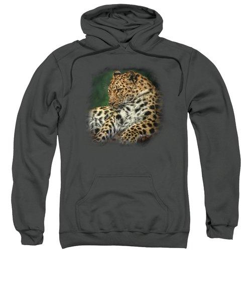 I'm Watching Sweatshirt by Sandy Oman