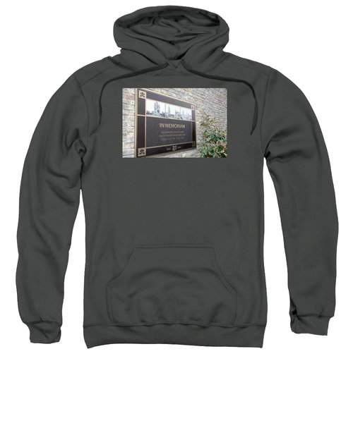 Sweatshirt featuring the photograph In Memoriam - Ypres by Travel Pics