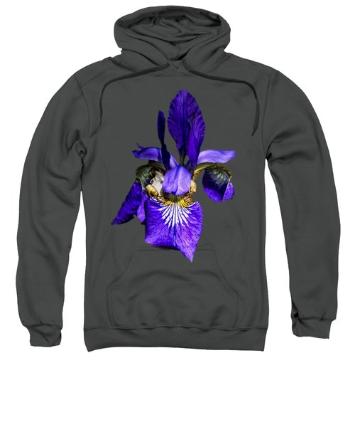 Iris Versicolor Sweatshirt by Mark Myhaver