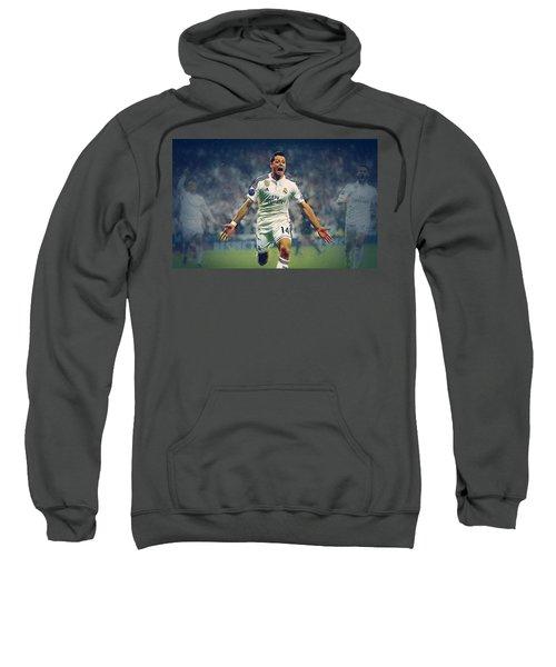 Javier Hernandez Balcazar Sweatshirt by Semih Yurdabak