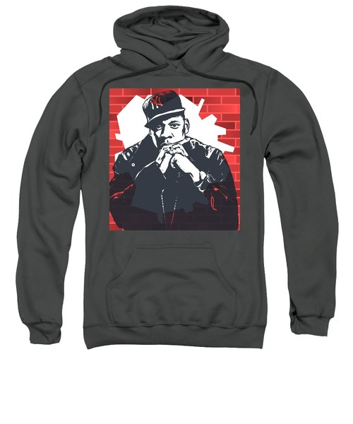 Jay Z Graffiti Tribute Sweatshirt by Dan Sproul