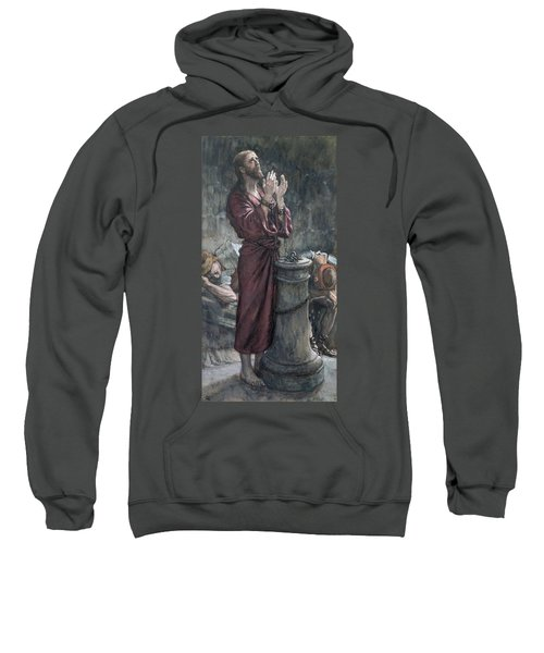 Jesus In Prison Sweatshirt by Tissot