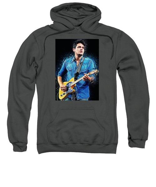 John Mayer Sweatshirt by Taylan Soyturk