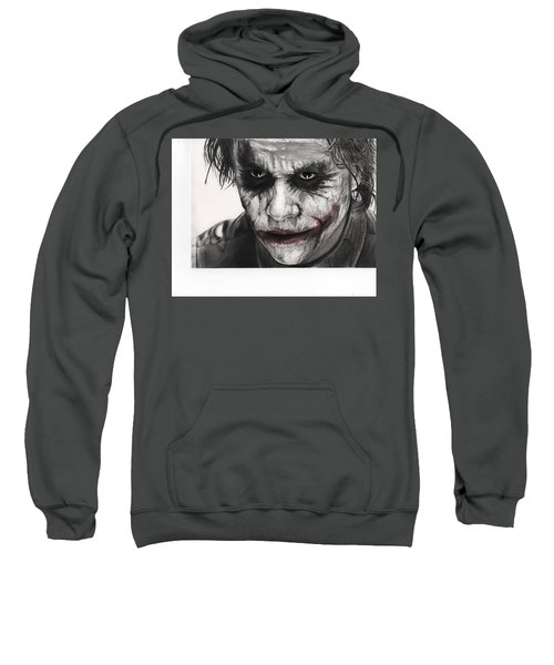 Joker Face Sweatshirt by James Holko