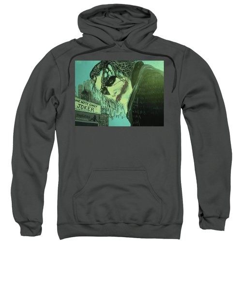 Joker Sweatshirt by Scott Murphy