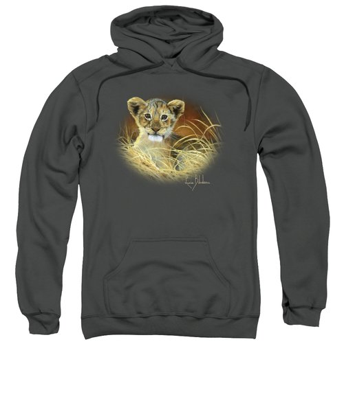 King To Be Sweatshirt by Lucie Bilodeau