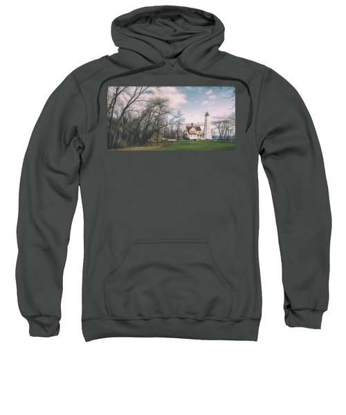 Late Afternoon At The Lighthouse Sweatshirt by Scott Norris