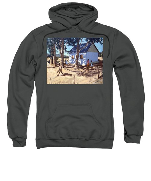 Little White House Karoo South Africa Sweatshirt by Andrew Macara