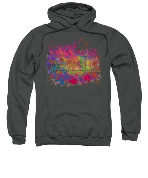 London Colour Sweatshirt by Dave H