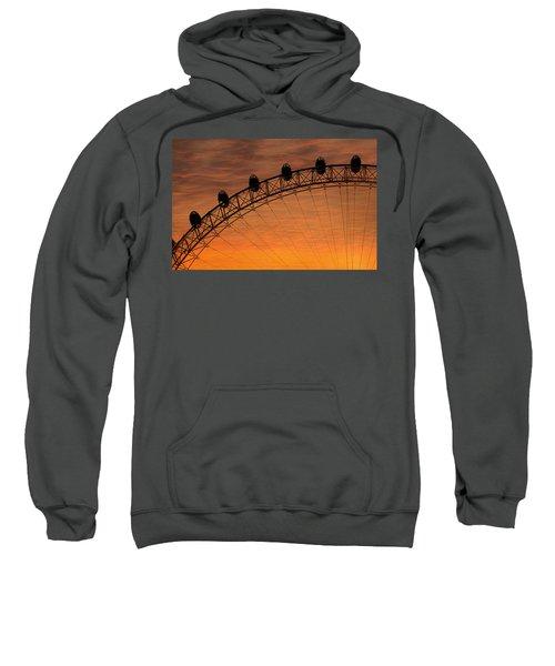 London Eye Sunset Sweatshirt by Martin Newman