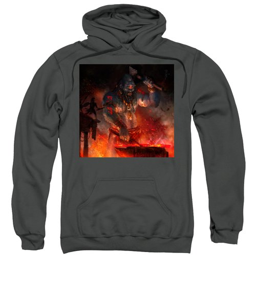 Maker Of The World Sweatshirt by Ryan Barger