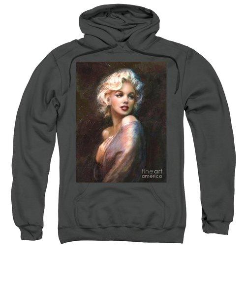 Marilyn Romantic Ww 1 Sweatshirt by Theo Danella