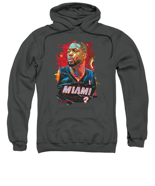Miami Heat Legend Sweatshirt by Maria Arango