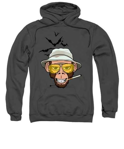 Monkey Business In Las Vegas Sweatshirt by Nicklas Gustafsson