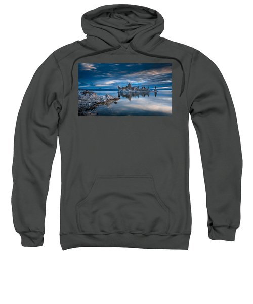 Mono Lake Tufas Sweatshirt by Ralph Vazquez