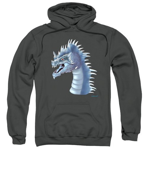Mystical Ice Dragon Sweatshirt by Glenn Holbrook