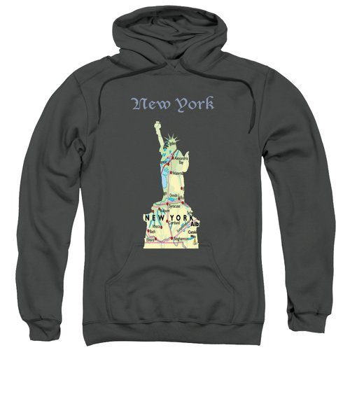 New York Sweatshirt by Art Spectrum