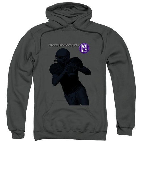 Northwestern Football Sweatshirt by David Dehner