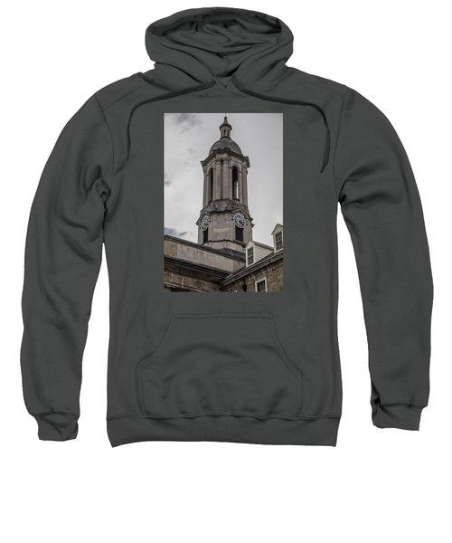 Old Main Penn State Clock  Sweatshirt by John McGraw