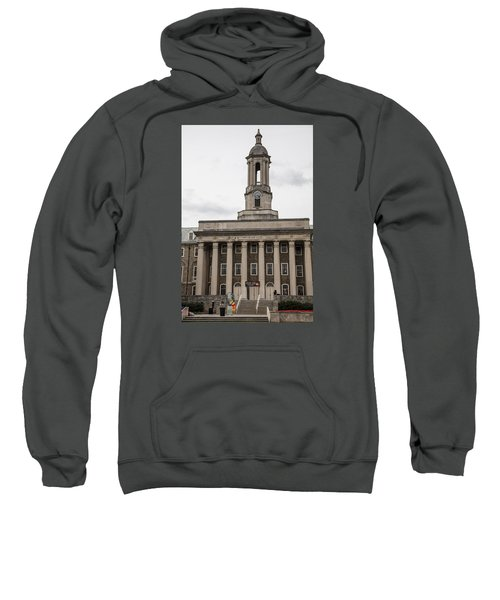 Old Main Penn State From Front  Sweatshirt by John McGraw