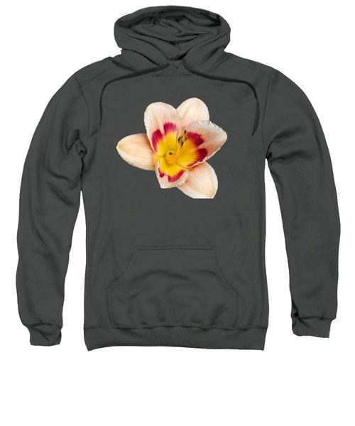 Orange Yellow Lilies Sweatshirt by Christina Rollo