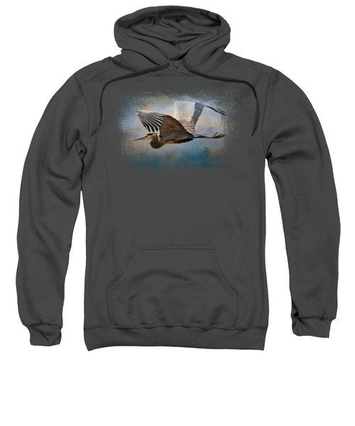 Over Ocean Skies Sweatshirt by Jai Johnson
