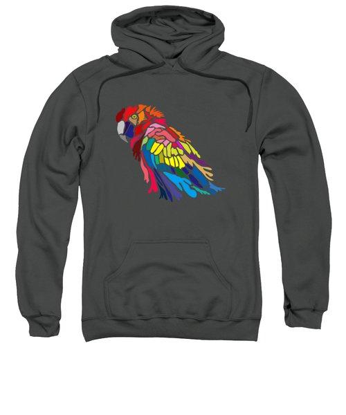 Parrot Beauty Sweatshirt by Anthony Mwangi