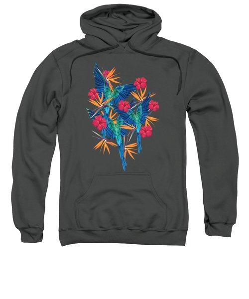 Parrots Sweatshirt by Marta Balcerzak