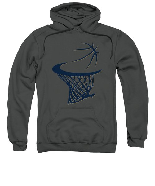 Pelicans Basketball Hoop Sweatshirt by Joe Hamilton